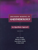 Decision Making in Anesthesiology PDF