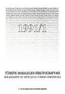 Bibliographie des articles parus dans les p  riodiques turcs PDF