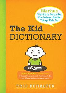 Kid Dictionary Book