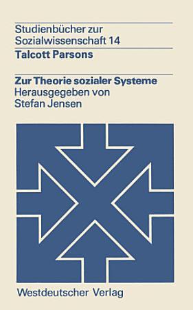Zur Theorie sozialer Systeme PDF
