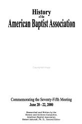History of the American Baptist Association PDF