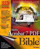 Adobe Acrobat 7 Pdf Bible Book PDF