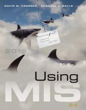 Using MIS: Edition 8