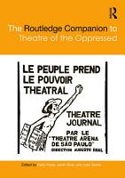 The Routledge Companion to Theatre of the Oppressed PDF