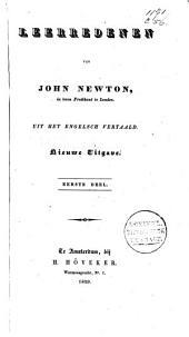 Leerredenen van John Newton