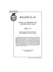 Bulletin: Volumes 30-31