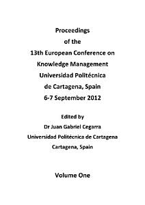 ECKM 2012 Proceedings of the 13th European Conference on Knowledge Management PDF