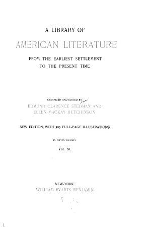 Literature of the republic  pt  3  1835 1860 PDF