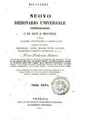 *Supplimento al nuovo dizionario universale tecnologico o di arti e mestieri : compilato sulle migliori opere di scienze ed arti pubblicatesi negli ultimi tempi ... -: 46: