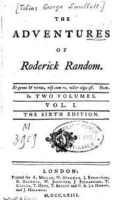 The Adventures of Roderick Random: Volume 1