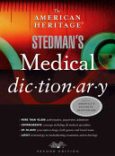 The American Heritage Stedman s Medical Dictionary PDF