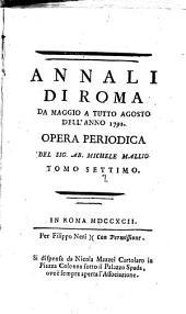 Annali di Roma ...: Volume 7