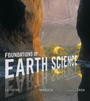 Foundations of Earth Science PDF