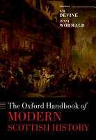 The Oxford Handbook of Modern Scottish History PDF