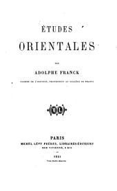 Études orientales