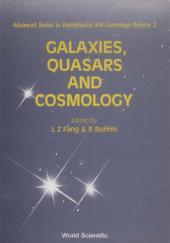 Galaxies, Quasars and Cosmology