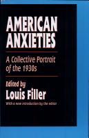American Anxieties PDF