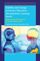 Stability and Change in Science Education    Meeting Basic Learning Needs PDF