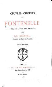 Oeuvres choisies de Fontenelle: Entretiens sur la pluralité des mondes. Éloges