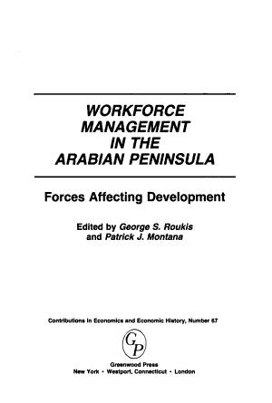 Workforce Management in the Arabian Peninsula