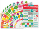 Essentials Monthly Planner Stickers  Set of 475 Stickers