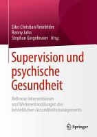 Supervision und psychische Gesundheit PDF