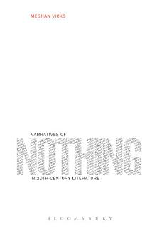 Narratives of Nothing in 20th Century Literature Book