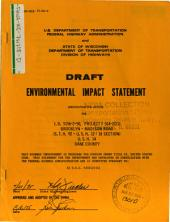 US-14, Evansville to Madison, Dane County: Environmental Impact Statement
