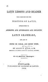 Latin Lessons & Reader