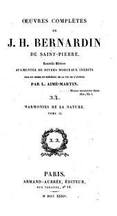 Oeuvres complètes de J. H. Bernardin de Saint-Pierre: Volume9