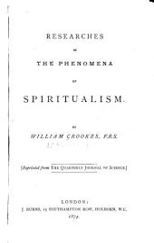 Researches in the Phenomena of Spiritualism: Part 3