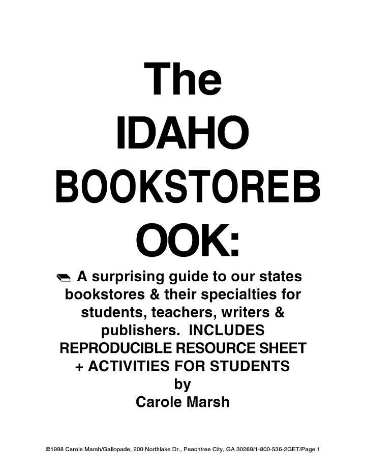 The Idaho Bookstore Book