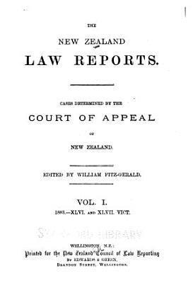 The New Zealand Law Reports PDF