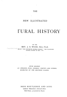 The New Illustrated Natural History PDF