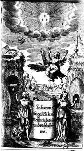 Johannis Angeli Silesii Geistreiche Sinn- vnd Schlussreime