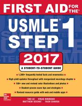 First Aid for the USMLE Step 1 2017: Edition 27