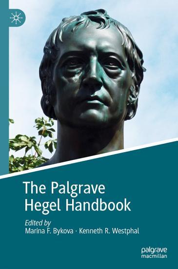 The Palgrave Hegel Handbook PDF