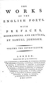 The Works of the English Poets: With Prefaces, Biographical and Critical, Volume 17, Page 1