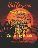 Halloween Trick Or Treat Coloring Book