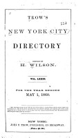 Trow s New York City Directory     PDF