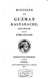 Histoire de Guzman d'Alfarache: Volume2
