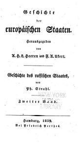 Geschichte des russischen staates: Band 2;Bände 1224-1505