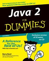 Java 2 For Dummies PDF