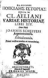 Kl. Ailianou Poikiles istorias biblia. 14
