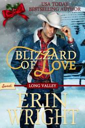 Blizzard of Love: A Sweet Western Romance Novella