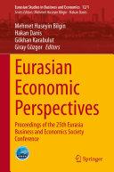 Eurasian Economic Perspectives