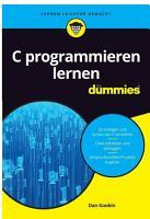 C programmieren lernen f  r Dummies PDF