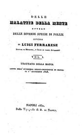 Trattato della mania (etc.): 1