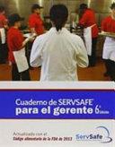 Cuaderno de Servsafe para el gerente   ServSafe ManagerBook with Answer Sheet