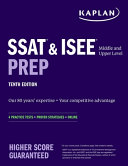 SSAT & ISEE Middle & Upper Level Prep